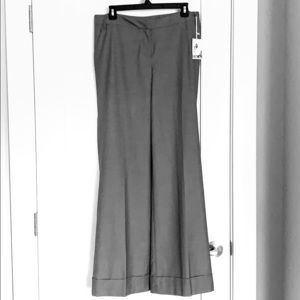 Kensie grey wise leg trousers with cuff